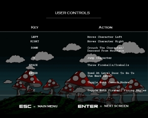 Controls Screen 1