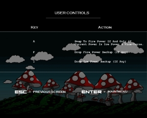 Controls Screen 2